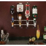 Rack & Pour Wall Mount - 4 bottle