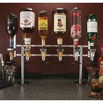Rack & Pour Counter Mount - 6 bottle